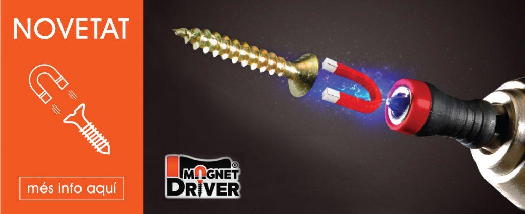 banner magnet driver